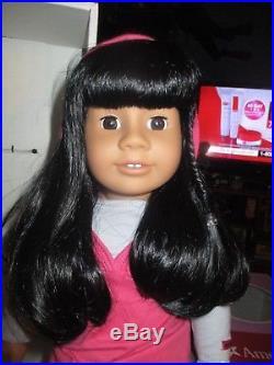 Just Like You Truly Me #11 American Girl Doll Brown Eyes Dark Hair Medium Skin