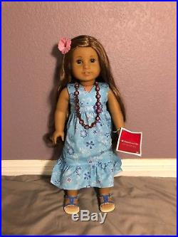 Kanani 2011 American Girl Doll of the Year Retired with Book- Great Condition