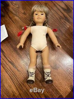 Kirsten Larson American Girl Doll Pleasant Company 18 Cloth Body Retired