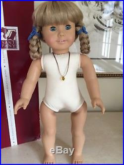 Kirsten White Body American Girl Doll 1986 in BOX Pleasant Company! EXCELLENT