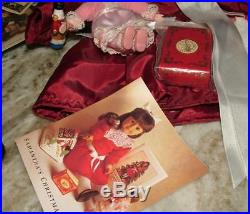 LOT Pleasant Company American Girl SAMANTHA DOLL w OUTFITS, ACCESSORIES, BOOKS