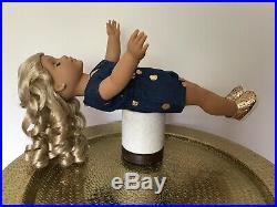 Lauren Custom OOAK American Girl Doll Create Your Own Blonde Hair Blue Eyes