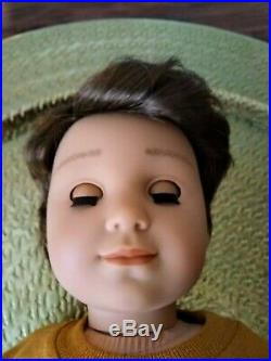 Levi Custom American Girl Boy Doll Brown Hair Hazel Eyes Logan Kaya Mold OOAK