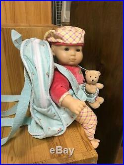 Lot (2) Bitty Baby Dolls! 2 Bears! American Girl Co Accessories, Books Sets