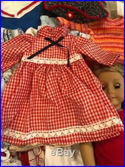 Lot American Girl Dolls Doll LOT with Misc Accessories & Clothing