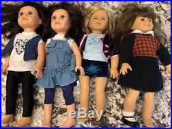 Lot American Girl Dolls and accesories plus (see full Description)