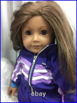 Lot Of 10 American Girl Pleasant Company Dolls Majority Retired