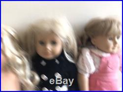 Lot Of 4 American Girl Dolls