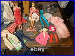 Lot Of 5 vintage Barbies Bubble cut Midge American Girl TNT Standard Ken ++++++