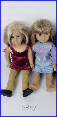 Lot Of 6 American Girl Dolls