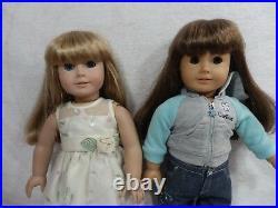 Lot of 2 American Girl Dolls Pleasant Company