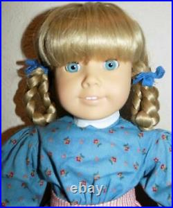 MINT WHITE BODY 1987 Kirsten American Girl Doll Pleasant Company Turquoise Eyes