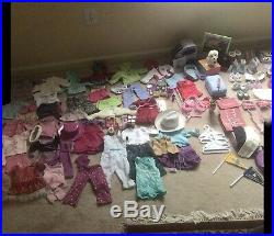 Massive American Doll Clothes Shoes Accessories LOT