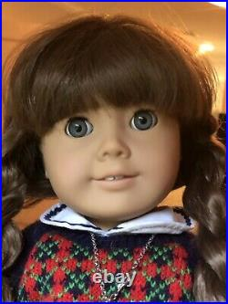 Molly american girl doll pleasant company signed #539 with COA