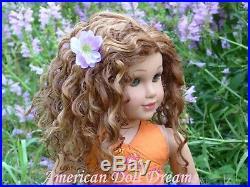 OOAK Cimmaron American Girl 18 Doll Custom Josefina Bohemian Waves Hazel Eyes