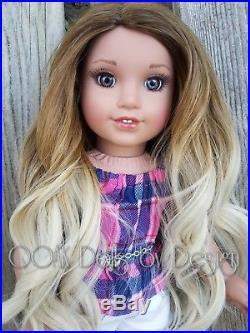 OOAK Custom American Girl Doll Alessia