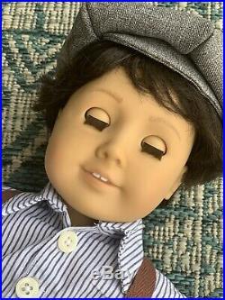 OOAK Custom BOY Pleasant Company American Girl Boy Doll Historical ADORABLE HTF