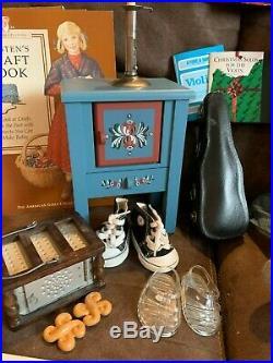 Original American Girl Kirsten Larson Pleasant Company Doll & Accessories