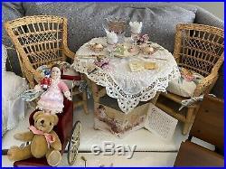 Original American Girl doll Samantha by Pleasant Company + clothing & furniture