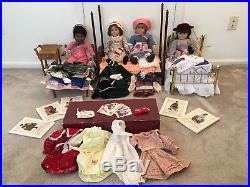 Original Pleasant Company, American Girl Sets -Samantha, Addy, Kirsten, Felicity