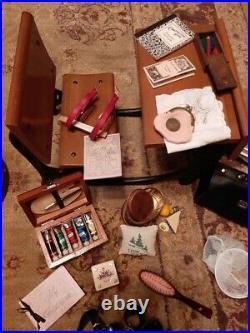 Original Vintage American Girl Doll Samantha, Clothes, Furniture, Accessories