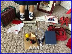 Originally American Girl Molly Doll with Trunk, outfits and accessories