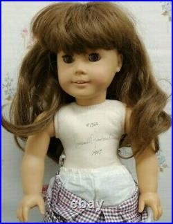 PLEASANT COMPANY 1987 SIGNED SAMANTHA American Girl White Body