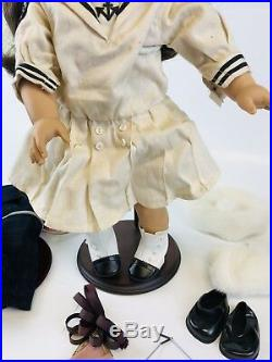 PLEASANT COMPANY American Girl Samantha Parkington DOLL 1991 With Accessories/Box