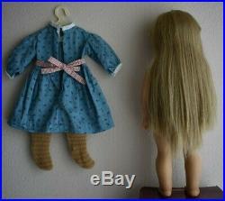 PLEASANT COMPANY Origional American Girl White Body Kirsten Larson 18 Doll
