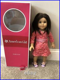 Pleasant American Girl Doll Chrissa GOTY Doll Of The Year in Box