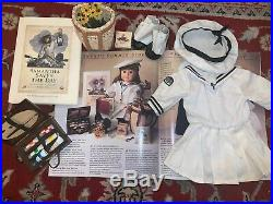 Pleasant Co. American Girl Samantha 1991 Summer Story Dress, Accessories
