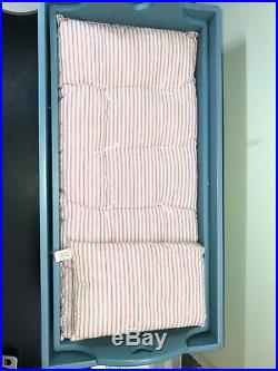 Pleasant Comp. American Girl Doll Kirsten Limited Bed Chest Trunk Bedding Lot