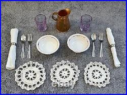 Pleasant Company Addy Ironstone Compote Set Dishes American Girl doll
