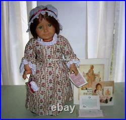 Pleasant Company American Girl 1986 FELICITY DOLL, 1991 ACCESSORIES & HARDCOVER