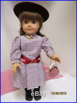 Pleasant Company American Girl 1987 White Body Samantha Doll Back From Spa Stay
