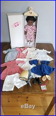 Pleasant Company American Girl Addy Doll with Huge Historical Clothing Lot Rare