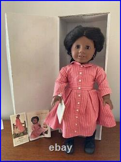 Pleasant Company American Girl Addy Early 1st Edition 1993 Doll in Box Meet