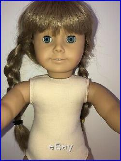 Pleasant Company American Girl Doll KIRSTEN White Body Bodied Rare