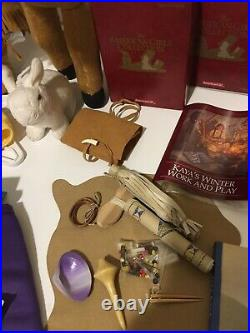 Pleasant Company/ American Girl Doll Kaya & Accessories Lot Beautiful