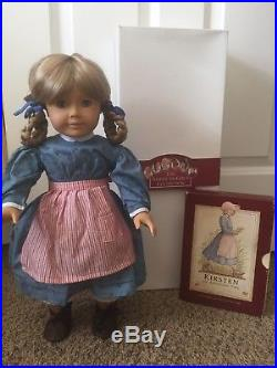 Pleasant Company American Girl Doll Kirsten Larson WHITE BODY 1986 West Germany