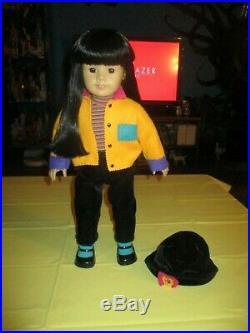 Pleasant Company American Girl Doll Of Today #4 Asian Black Hair Dark Brown Eyes