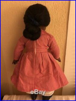 Pleasant Company / American Girl Doll Retired Addy Wearing Meet Outfit