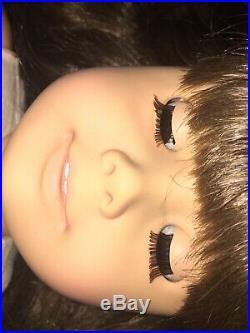 Pleasant Company American Girl Doll Samantha White Body With Dress & Locket