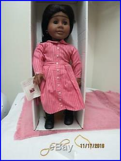 Pleasant Company American Girl Retired Addy Doll & Accessories Early Edition