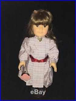 Pleasant Company American Girl SAMANTHA WHITE BODY DOLL With Box & Accessories