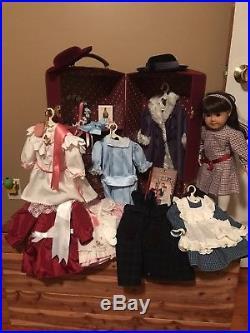 Pleasant Company American Girl Samantha Doll Trunk Amp Huge