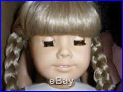 Pleasant Company American Girl White Body Kirsten Larsen Doll EUC! With Meet Book