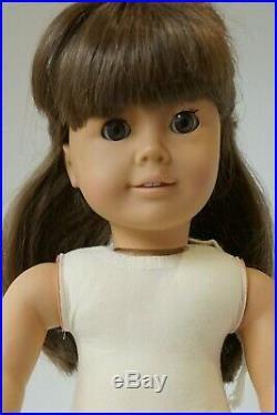 Pleasant Company American Girl White Body Samantha With Accessories 1987