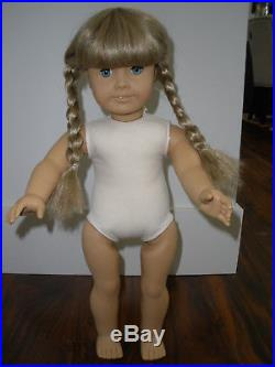 Pleasant Company American Girl doll Kirsten White Body + First Edition books