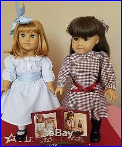 Pleasant Company Collection Samantha & Nellie American Girl Doll Retired